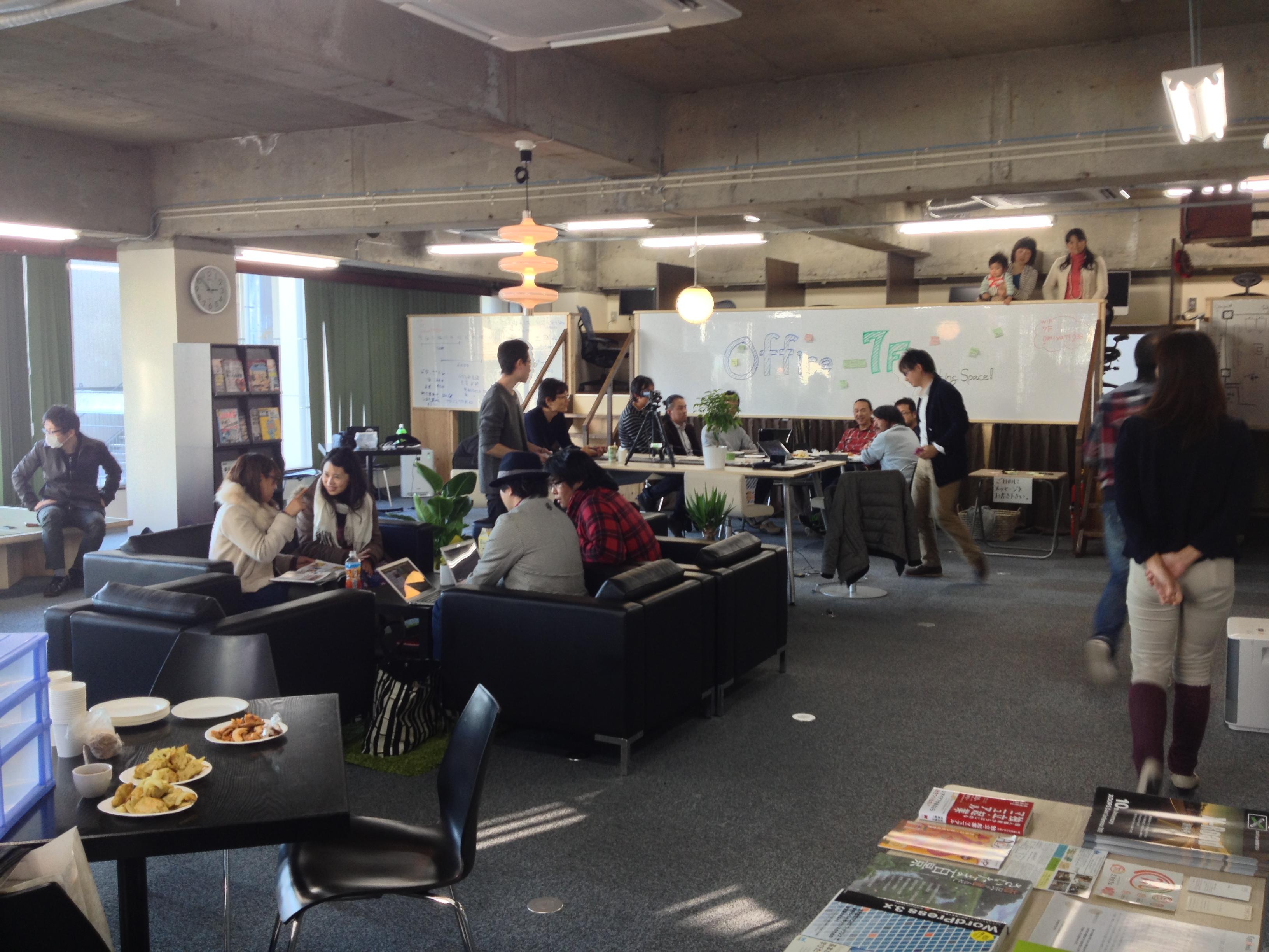 埼玉県さいたま市大宮駅東口徒歩1分のコワーキングスペース「7F」の運営を始めて約1週間が経ちました。