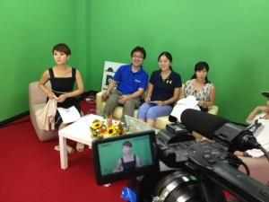 7Fスタッフになってすぐの頃に、埼玉地域情報番組「アマチアス」に出演しました。