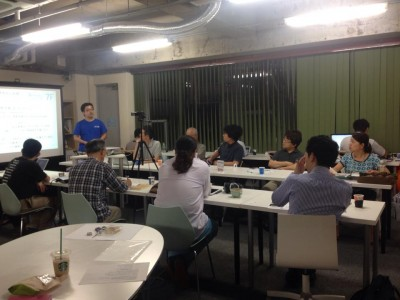 「コワーキングスペース7Fを運営する目的、成功させるために取り組んだこと、運営して出てきた課題など。」を発表させていただきました。