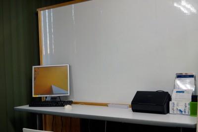 デスクトップ共有パソコンとホワイトボード