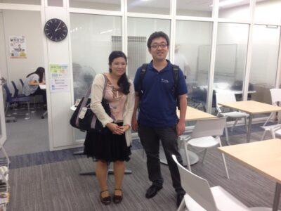 大学生の新卒の就職活動に特化したスペースである「就トモCafe」さんに打ち合わせに行きました。