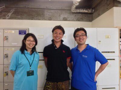 もともと7F利用者さんで、今はプライム・ストラテジーに勤めている藤本陽介さんがインドネシアでビジネス展開するというので、最後に挨拶に来てくれました。