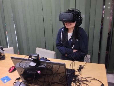 Oculus Rift(オキュラス・リフト)を体験しました。