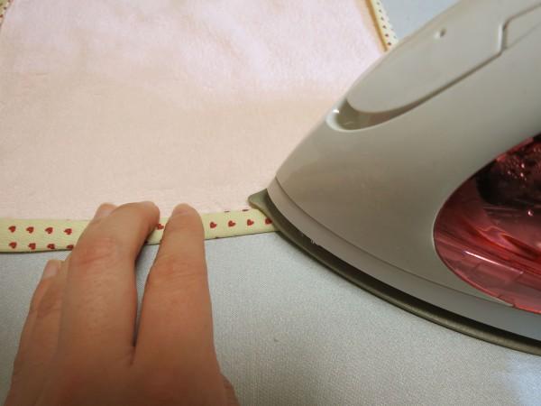手作りハンドタオル