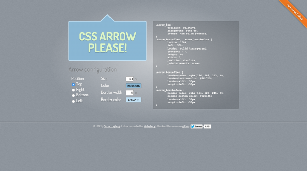 css-arrow-please
