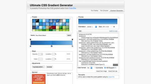 ultimate-css-gradient-generator