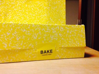 BAKEのチーズケーキ