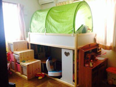 IKEAの家具で作る!秘密基地みたいな子ども部屋