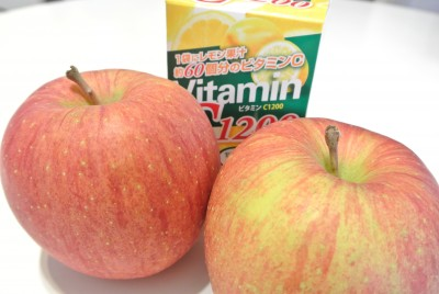 りんごとビタミンC