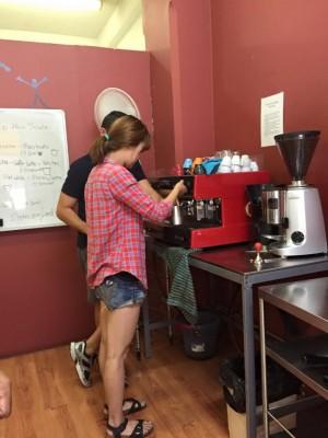 coffee school