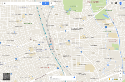 大宮駅周辺の地形