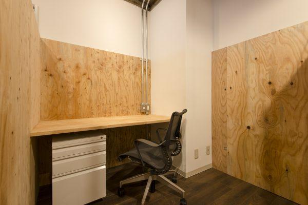 シェアオフィスの個室のイメージ(その2)