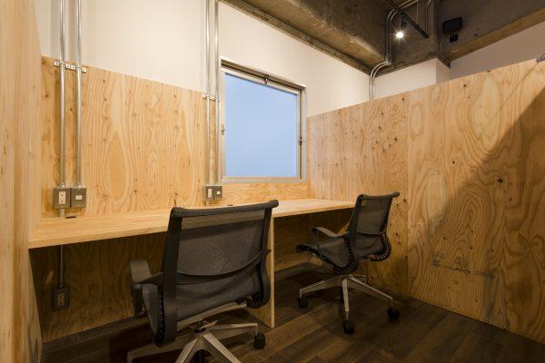 シェアオフィスの個室のイメージ(その1)