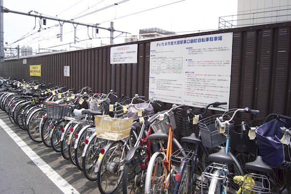 さいたま市営大宮駅東口錦町自転車駐車場4