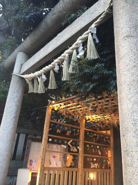 川越氷川神社の入口