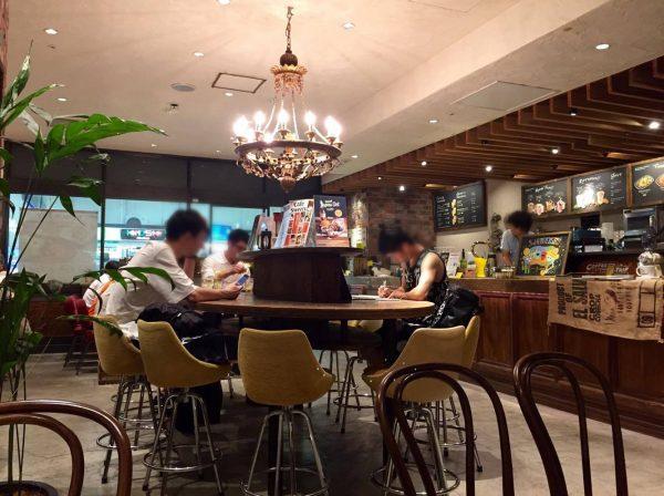 カフェ サルバドル(Cafe Salvador) ルミネ大宮店の店内