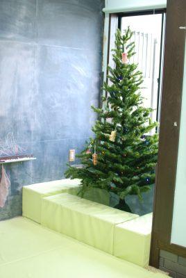 しばふハウスのクリスマスツリー