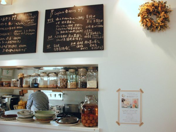 食堂カフェラパン 店内