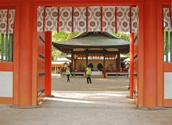 大宮氷川神社 楼門