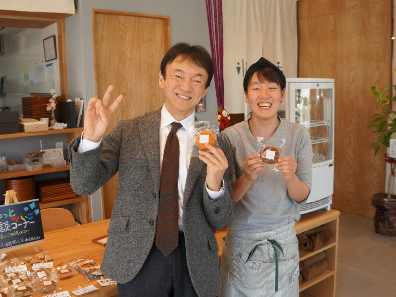 小池社長と喫茶店長の澁谷さん