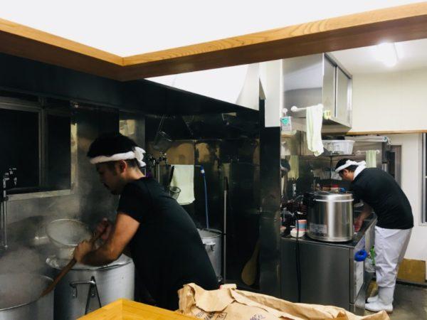 麺家紫極 キッチン