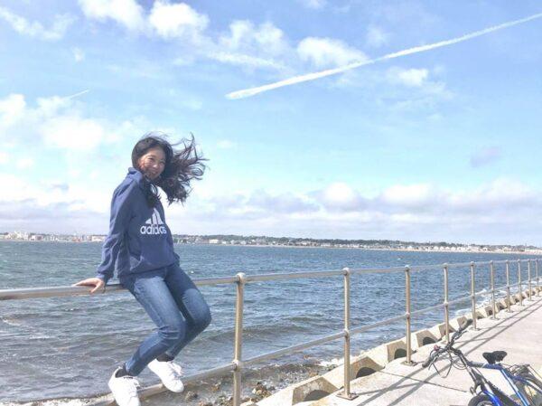 海沿いの写真