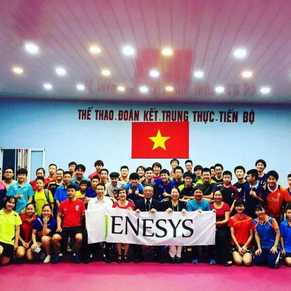 ベトナムで卓球