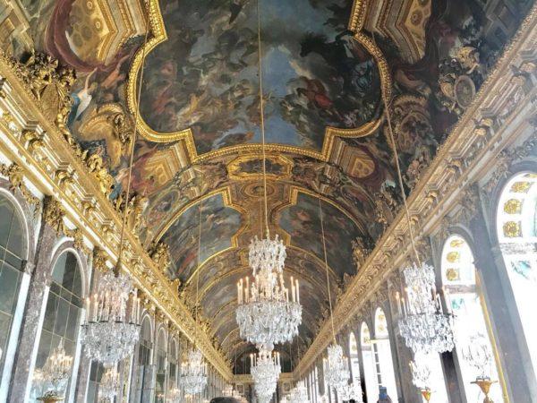 ヴェルサイユ宮殿での写真
