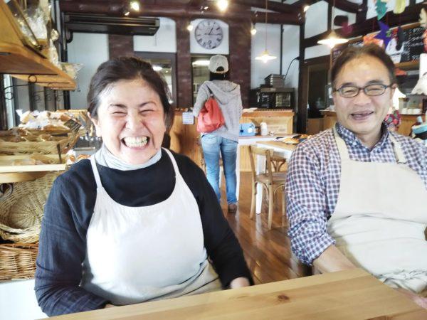笑顔でいっぱいの菅原さんと諸田さん