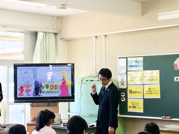 セサミストリートカリキュラム_為田先生の授業風景