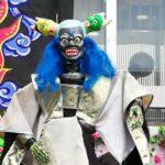 布袋戯で登場した悪役の人形