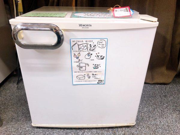 コワーキングスペース7F(ナナエフ)で使える冷蔵庫